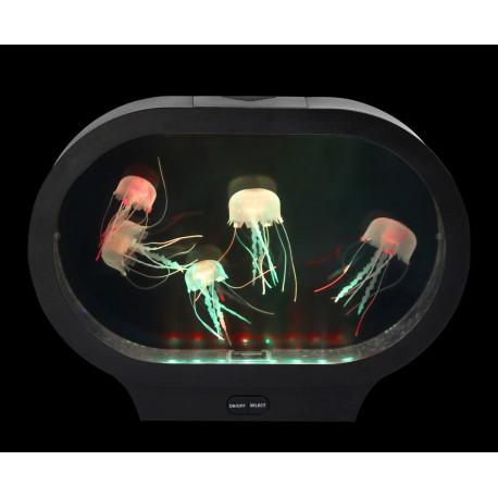 Tanque Relax Luminoso con Medusas