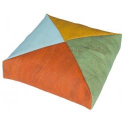 Almohadón Cuadrado con Funda de Corcho 4 Colores