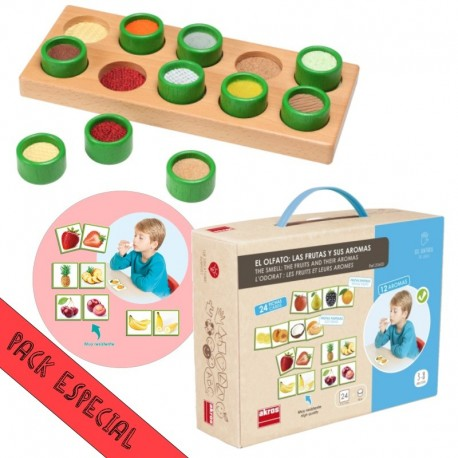 Pack que Trabaja Áreas Sensoriales