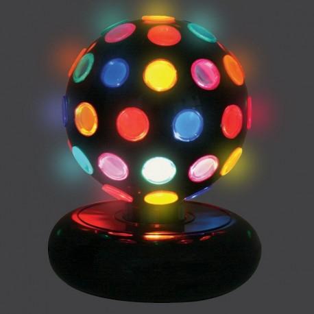 Bola Giratoria con Efecto de Luz Multicolor